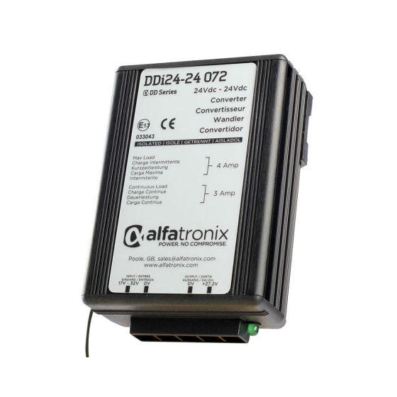Alfatronix CONVERTOR DD Series 24Vdc - 24Vdc 72W continuous current