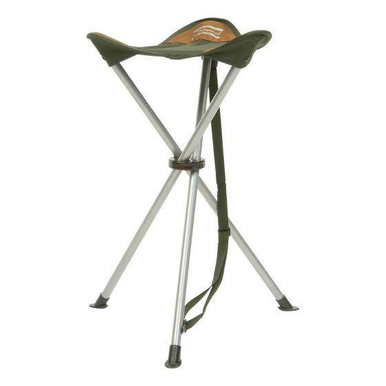 Shakespeare Compact Folding Stool - Brown/Green