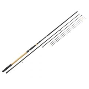 Mitchell Tanager Feeder 363 4-Piece Rod - Black
