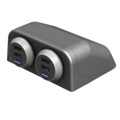 Alfatronix USB-TPOD Table mounting pod for USB Chargers