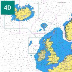 C-MAP 4D UK Local Charts