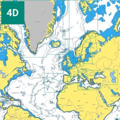 C-MAP 4D Wide Area Charts