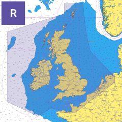 C-MAP Reveal Chart: EW-Y226 - United Kingdom & Ireland - SD Card