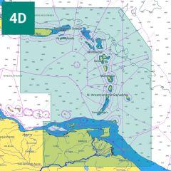 C-MAP 4D Chart: NA-D964 - Puerto Rico to Rio Orinoco - SD-Card