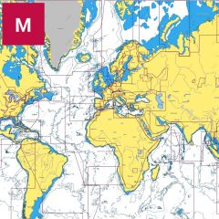 C-MAP MAX Wide Area Charts