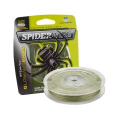 Spiderwire Stealth Glo-Vis Green Fishing Braid
