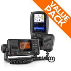 Garmin EchoMAP Plus 45cv & VHF 115i Bundle