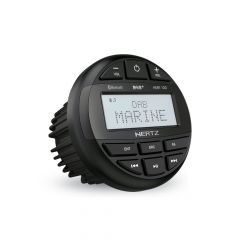 Hertz HMR 10D - IP66 Marine Stereo with Bluetooth and DAB+