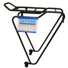 Oxford 26''-28'' Alloy Luggage Rack Black Quick Release Wheel Fitting