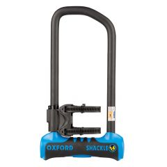 Oxford Shackle 14 U Lock 320mm Blue/Black