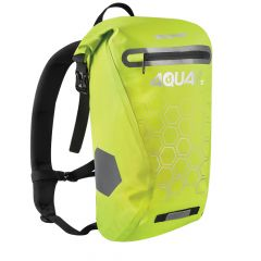 Oxford Aqua V 12 Backpack Yellow Hexagons