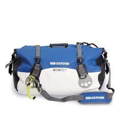 Oxford Aqua RB50 Roll Bag Blue/White