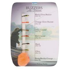 Shakespeare Sigma Fly Selection - Buzzers - 7 Assorted Styles