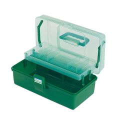 Shakespeare Deluxe Tackle Box - 1 Tray - Green