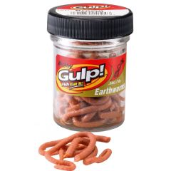 Berkley Gulp Extruded Earthworms Natural Brown