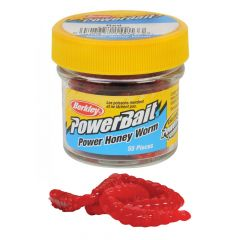 Berkley Powerbait Honey Worms - Red