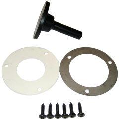 Raymarine Wheel Drive Flat Pedestal Kit