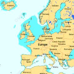 Raymarine C Map Essentials Chart EU