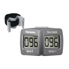 Raymarine Micro Compass System Includes Micro Compass Strap Bracket