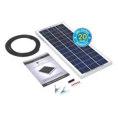 Solar Technology 20W RIGID Solar Panel Kit BASIC