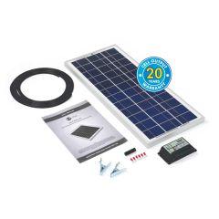 Solar Technology 20W RIGID Solar Panel Kit