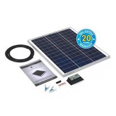 Solar Technology 45w Rigid Solar Panel Kit & 10Ah Charge Controller
