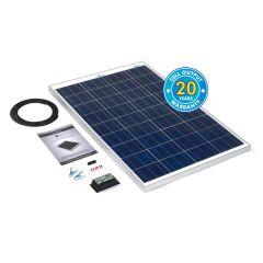Solar Technology 100w Rigid Solar Panel Kit & 10Ah Charge Controller