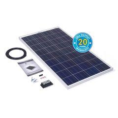 Solar Technology 120w Rigid Solar Panel Kit & 10Ah Charge Controller