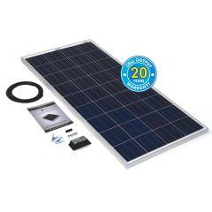 Solar Technology 150w Rigid Solar Panel Kit & 10Ah Charge Controller