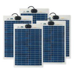 Solar Technology 20W FLEXI Solar x5 Panel Kit BASIC