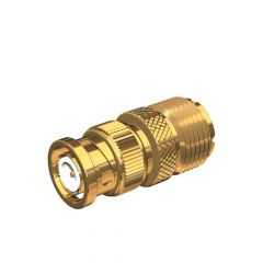 Shakespeare BNC to SO239 Adapter Gold plate