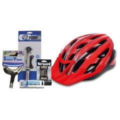 Oxford Adult Cycle Bundle - L/XL - Red