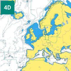 C-MAP 4D Continental Charts