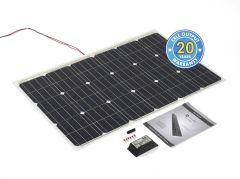Solar Technology 100W Flexi Solar Panel Kit & 10Ah Charge Controller