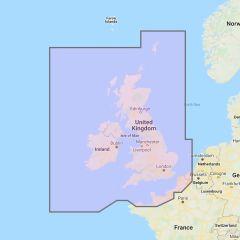 Furuno TimeZero Wide Area Chart: UK, Ireland & The Channel - Navionics