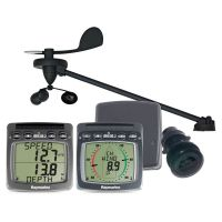 Raymarine Wireless Wind Speed & Depth System with Triducer