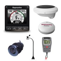 Raymarine i70s Wireless Vertical Wind, DST800, heading sensor and backbone Kit