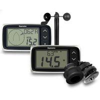 Raymarine i40 Bi-Data Speed, Temp, Depth and Wind Pack with Transducers