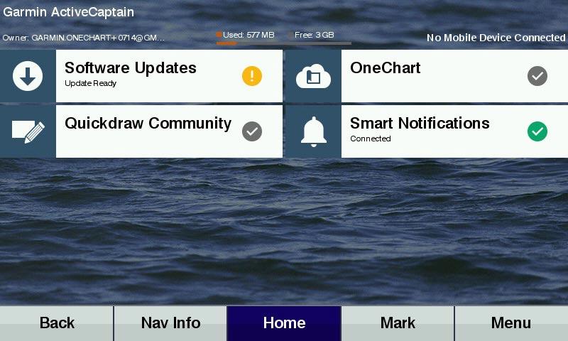 Garmin Active Captain App