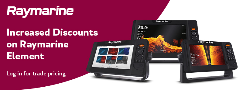Raymarine Element Navionics bundles, reduced SRP plus increased discounts