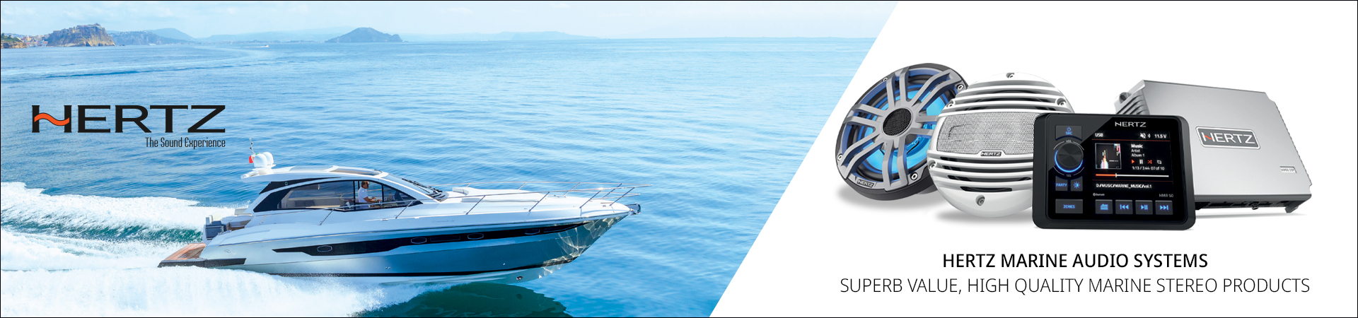 New Hertz Marine Audio