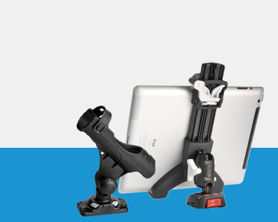 Watersports mounts from Railblaza and Rokk